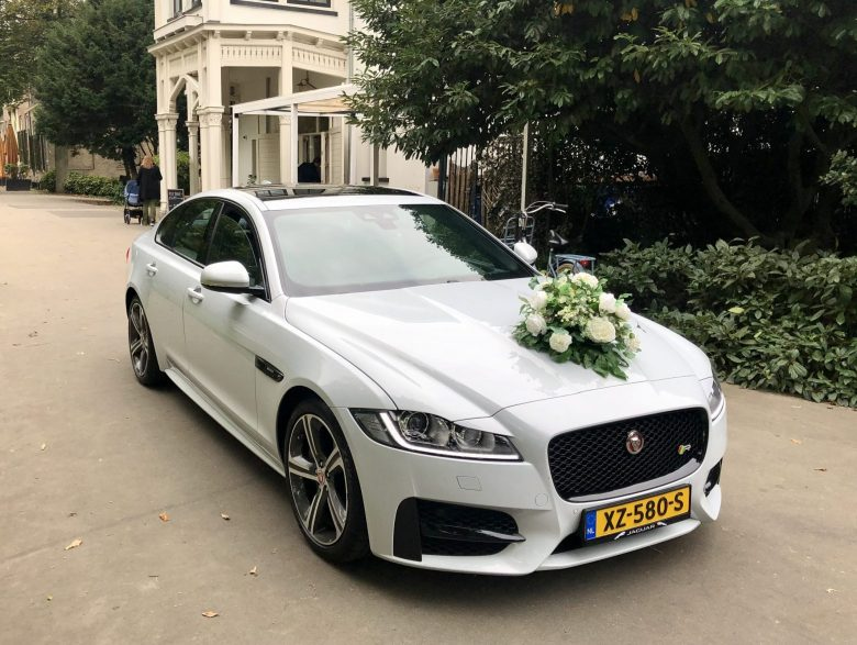 Jaguar trouwauto Rotterdam